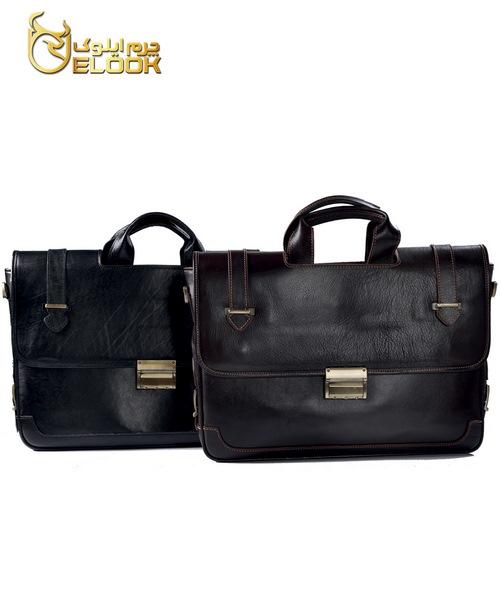 کیف اداری چرم طبیعی LB250