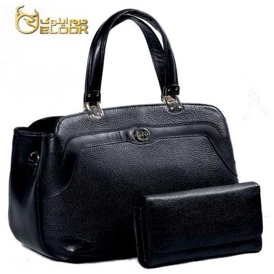 کیف چرم زنانه مجلسی مدل LHB 374