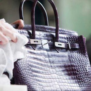 محافظت از کیف چرم